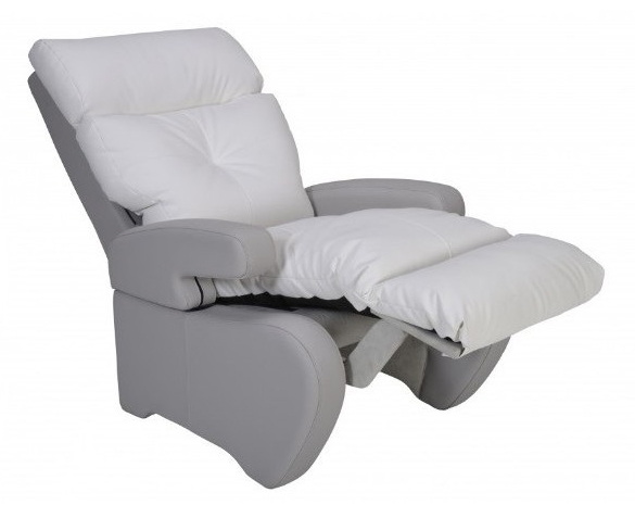 fauteuil de repos manuel inclinable nostress blanc innov. Black Bedroom Furniture Sets. Home Design Ideas