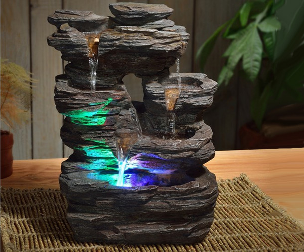 Fontaine d 39 int rieur nature pietra zen arome fontaines imitation nature togisant - Fontaine d appartement zen ...