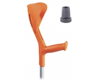 Canne Anglaise Fun Orange avec embout pivotant - HERDEGEN
