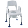 Chaise de Douche et WC démontable Aquatec Pico commode - INVACARE