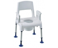 Chaise de douche démontable Aquatec Pico commode - INVACARE
