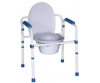 Chaise WC Blue Steel 3 en 1 - HEDERGEN