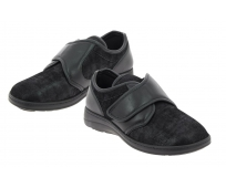Chaussures médicales Homme CHUT Pied Large Pavel Noir - PODOWELL