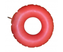 Coussin bouée gonflable rouge - PHARMAOUEST