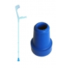 Embout bleu pour canne anglaise - 18mm - PHARMAOUEST