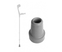 Embout Gris pour canne anglaise - 18mm - PHARMAOUEST