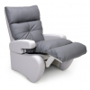 Fauteuil de repos manuel inclinable No Stress gris anthracite - INNOV'SA