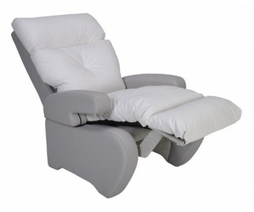 fauteuil de repos manuel inclinable nostress blanc innov 39 sa fauteuils de repos togisant. Black Bedroom Furniture Sets. Home Design Ideas