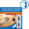 Orthèse corrective double hallux valgus Epithelium Flex Plus E26 Pied droit - EPITACT