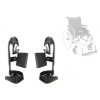 Pack de 2 reposes jambes complet pour fauteuil roulant Action 2 - INVACARE