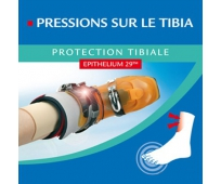 Protection tibiale 10x10cm - EPITACT