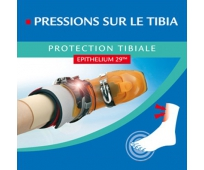 Protection tibiale 9,6x10,4cm x2 - EPITACT