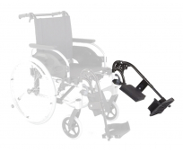 Repose jambe gauche pour fauteuil roulant Action 2 Basic - INVACARE