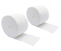 Rouleau 500 tampons ouate 4x5cm x2 - COMED