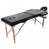 Table de massage pliable en 2 parties Lombok 2 noir