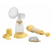 Kit tire-lait manuel simple pompe Lactaset - MEDELA
