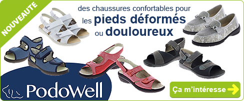 NOUVEAUITE : chaussures Médicales - Chaussures CHUT PODOWELL