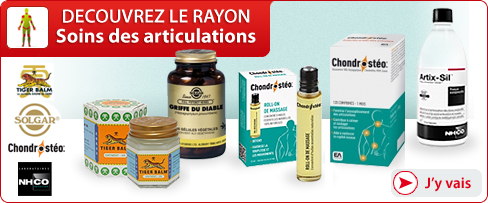 Rayon Soins des articulations
